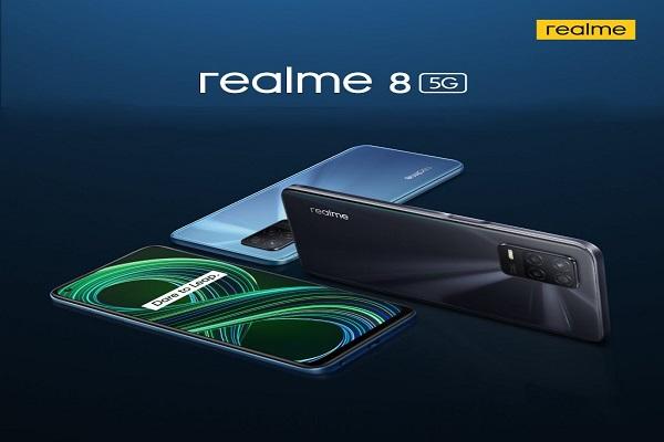 90Hz डिस्प्ले के साथ Realme 8 5G भारत में 22 अप्रैल को होगा लॉन्च