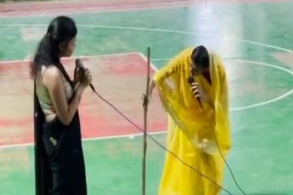 AIIMS में रामलीला पर भद्दा मजाक, वीडियो वायरल होने पर हुआ हंगामा
